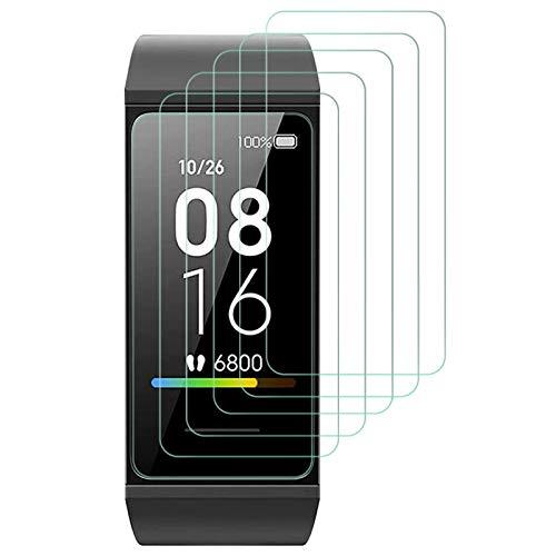 Widamin 6Pack, Schutzfolie für Xiaomi Mi Band 4C, Voll Abdeckung Bildschirmschutzfolie