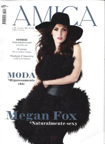 Price comparison product image Amica Magazine Megan Fox Milan Italy September 2011 Christina Lucchini