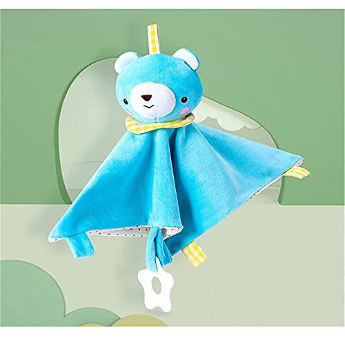 Baby-Sicherheitsdecke, beruhigendes Handtuch, Baby-Schlaftuch, perfektes Baby-Dusche-Geschenk für Jungen und Mädchen (A)