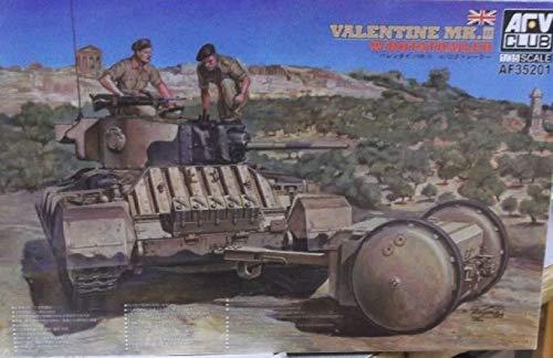 AFV Club Maquette Char 1/35 : Valentine MK. III avec Rotailler
