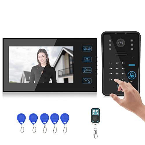 Videoportero con cable Videoportero Videoportero Intercomunicador 7 pulgadas Sistema de control de videoportero(Australian regulations)