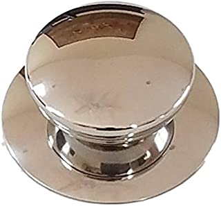 Melzon Cookware Universal Kitchen Stainless Steel Replacement Pot Lid Cover Knob Handle - Silver
