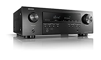 Denon AVR-S540BT Receiver 5.2 channel 4K Ultra HD Audio and Video Home Theater System built-in Bluetooth and USB port Compatible with HEOS Link for Wireless Music Streaming