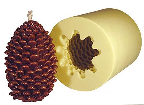 Mann Lake 'Jumbo Pine Cone' Candle Mold