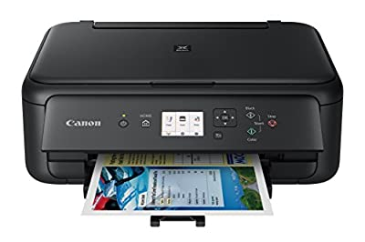Canon TS5120 Wireless All-In-One Printer with Scanner and Copier: Mobile and Tablet Printing, with Airprint(TM) and Google Cloud Print compatible, Black