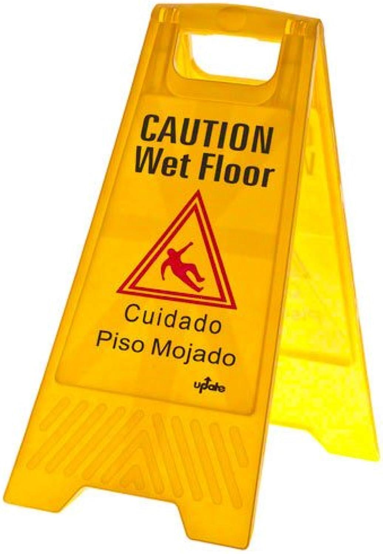 nueva gama alta exclusiva Update Update Update International (WFS-25) 24  x 12  Fold-Out Wet Floor Sign by Update International  edición limitada en caliente