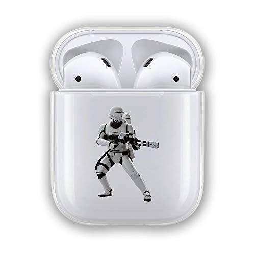 VIENNAR Star Wars Battlefront II Clone Trooper Stormtrooper Kylo Ren jnqccjj TPU Transparent Case for Cover Airpods 1 2