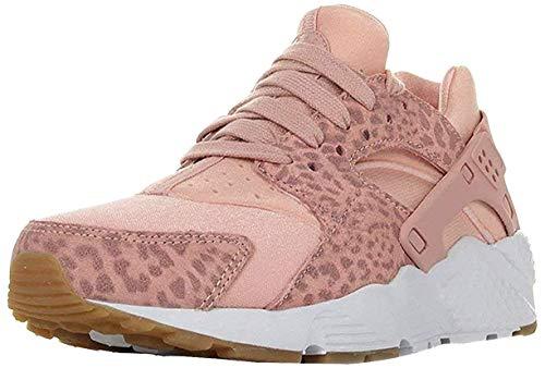 Nike Huarache Run Se (GS), Scarpe Running Donna, Multicolore (Coral Stardust/Rust 603), 36 EU
