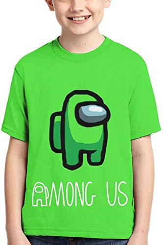 XCNGG Niños Tops Camisetas Boys Girls Among Us T-Shirt Short Sleeve Tops T Shirts Tees