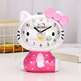 YF Night Light Talking Hello Kitty Voice Alarm Clock