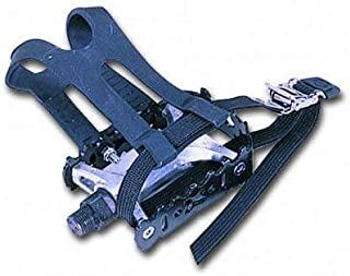SB Distribution Ltd. (Pair - Left+Right - Pedals W/Toe Clip for 1/2