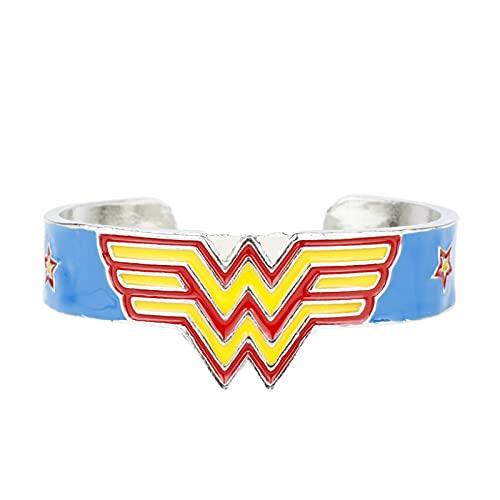 Europäisches Und Amerikanisches Filmzubehör Batman V Superman Justice Dawn Wonder Woman Armband Offenes Armband