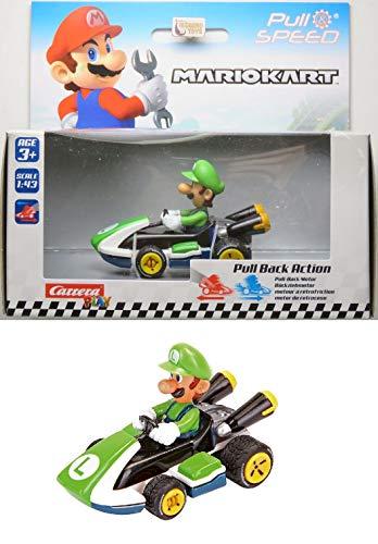 Luigi - Mario Kart 8 - Fricção - 1/43 - Carrera Play