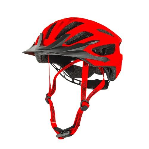 O'NEAL   Casco da Mountain Bike   Enduro All-Mountain   Sistema di ventilazione efficiente, sistema di regolazione della taglia, approvato EN1078   Casco Q RL   Adulto   Rosso   Taglia L/XL/XXL