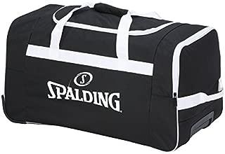 Spalding Team Maleta, 60 cm, 80 litros, Negro/Blanco