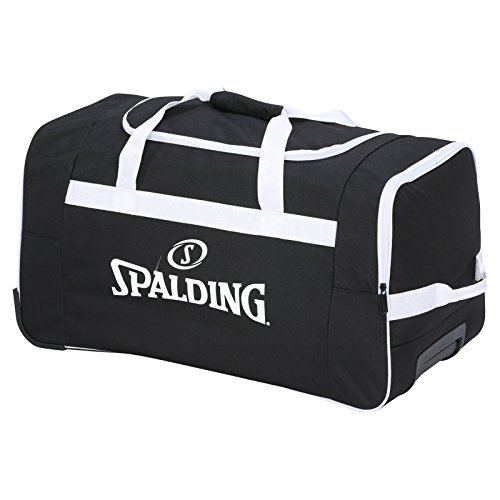 Spalding Team Valigia, 60 cm, 80 liters, Multicolore (Negro/Blanco)