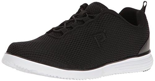 Propét Zapatos de Senderismo para Mujer TravelFit Prestige, Color Negro, Talla 43 EU X-Weit