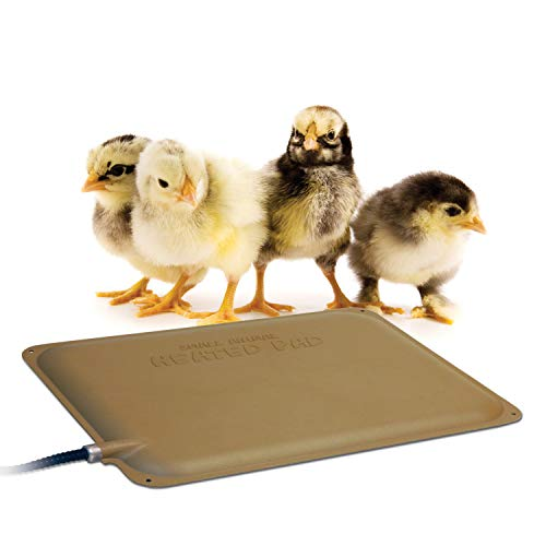 K&H Pet Products Thermo-Peep Heated Pad Tan 9' x 12' 25W
