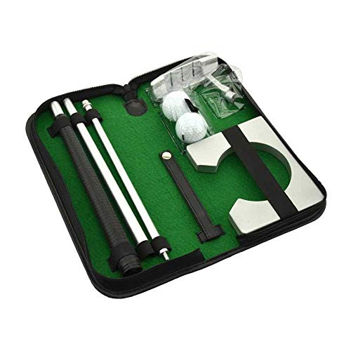 Just Golf Foldable Executive Golf Set Perfect of Office / Home Putting Practice
