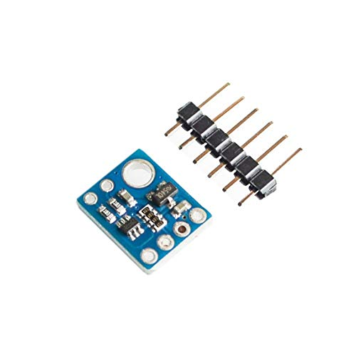 Rouku GY-6180-VL6180X Portador del módulo del Sensor de Distancia de Tiempo de Vuelo con regulador de Voltaje 2.8V para el Cambiador de Nivel Arduino I2C (Color: Azul)