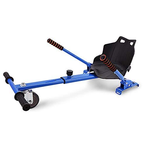 Wgwioo Asiento con Suspensión para Hoverboard, Asiento Cómodo para Kart, Kart para Niños con Asiento para Hoverboards, Se Adapta A 6.5 Pulgadas, 8 Pulgadas Y 10 Pulgadas