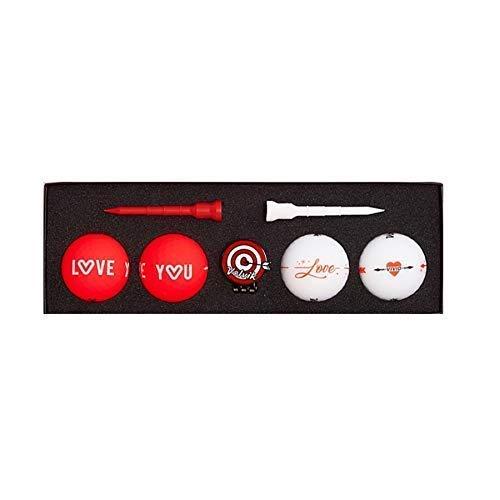 Volvik Love Pack Vivid Coffret Cadeau Unisexe Rouge/Blanc...