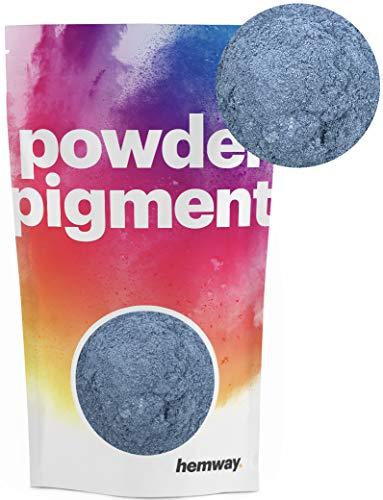 Hemway – Buntes, strahlendes Metallic-Pigmentpulver, für Epoxidharz und Polyurethanfarbe, blau