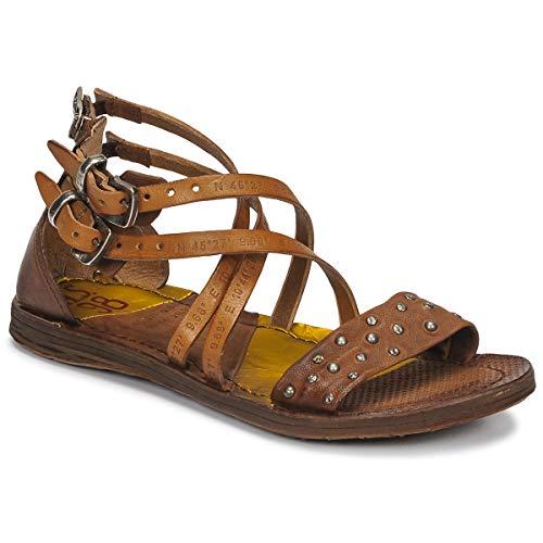 airstep / a.s.98 Ramos Clou Sandalen/Sandaletten Damen Camel - 40 - Sandalen/Sandaletten Shoes
