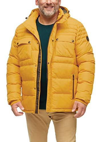 s.Oliver Big Size Herren 131.12.009.16.150.2055534 Jacke, Yellow, 5XL