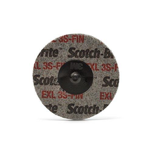 maxidetail ad9201geschlossenen Rad, Siliziumkarbid, Roloc halteraufsatz EXL 3S Fin Scotch-Brite/76mm/3m