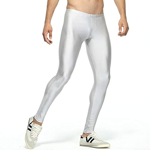 FRAUIT Pantacollant Uomo Sport Dimagranti Leggins Uomo Palestra Compressione Leggings Uomo Running Pantaloni Uomo Elegante Elasticizzati Pantaloni da Uomini Sportivi Jogging Sport Slim Fit Workout