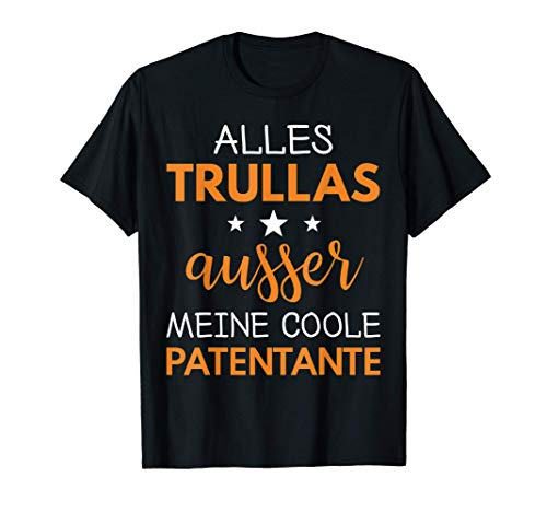 Firmung Kommunion Taufe Geschenk Patentante Godi Godl T-Shirt