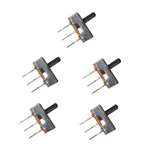 Mini Schiebeschalter Schalter SS12D00 3pin ON-OFF 5 Stück (0006)