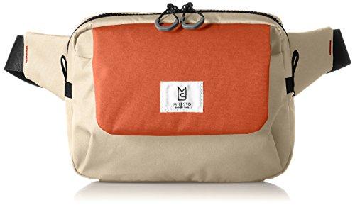 [ミレスト] MILESTO ミレスト ボディバッグ メンズ レディース 斜めがけ 軽量 ウエストポーチ 撥水 2WAY TROT オレンジ 橙 orange