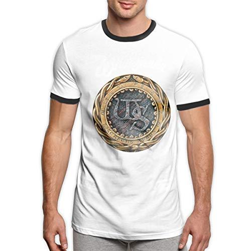 Patrick R Garrett Whitesnake T-Shirt Trendy Herren Ringer T-Shirt Weiches Kurzarm T-Shirt Top