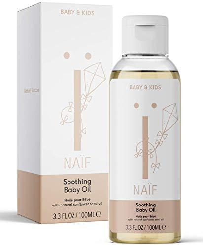 Naïf P006Natuurlijke Babyolie - Verzachtend, 100 ml