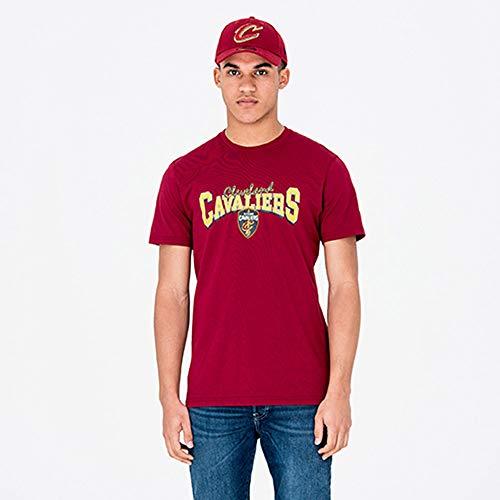 A NEW ERA Era Camiseta Manga Corta - NBA Team Apparel tee Cleveland Cavaliers (L)
