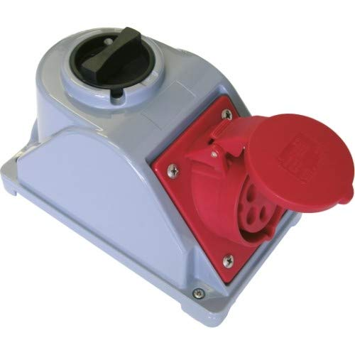 SIROX® Abschaltbare CEE-Wandsteckdosen IP 44 Stromstärke 16 A, Steckdose 230 V~ 1