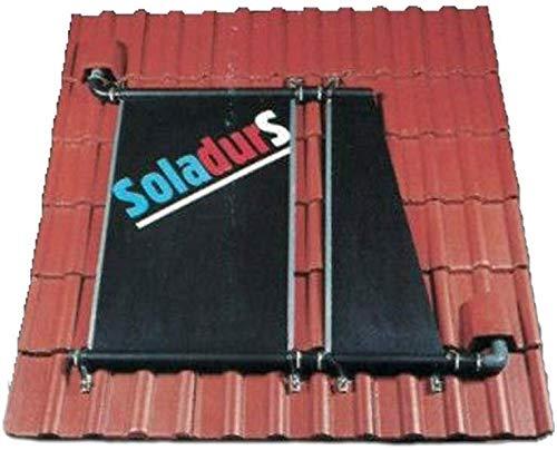 well2wellness® Soladur S-Solarabsorber für Schwimmbecken - 5,00m x 1,20m = 6,0m²