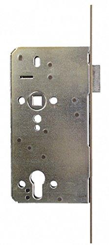 Haustüren-Einsteckschloss Profilzylinder, eckiger Stulp 22x280 mm, links
