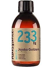 Naissance Jojoba-olie goud (nr. 233) 250ml 100% zuivere, koudgeperste olie