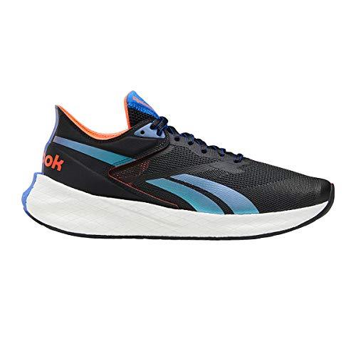Reebok Men's Floatride Energy Symmetros Running Shoe - Color: Night Black/Court Blue/Orange Flare - Size: 8.5 - Width: Regular