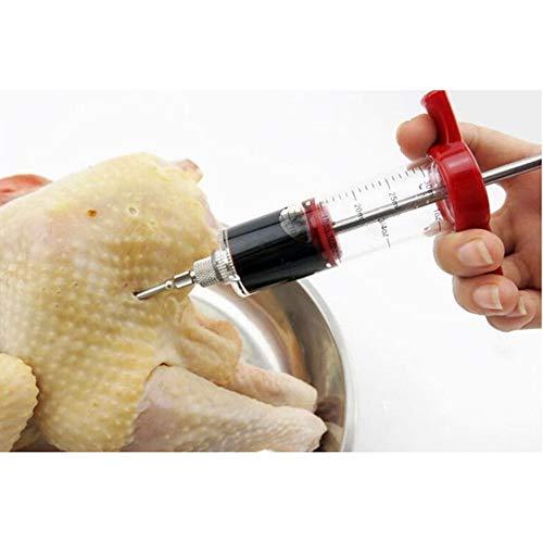 DW007 Fleischspritze Marinade Injektor Nadeln Für BBQ Grill Smoker 30Ml Große Kapazität
