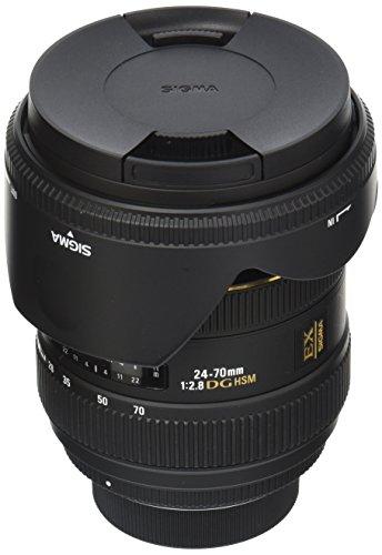 Sigma 24-70mm IF EX DG HSM - Objetivo para Nikon (24-70mm, f/2.8), Color Negro