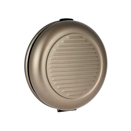 Ögon Smart Wallets - Coin Dispenser in Euro - Distributore di monete - Portamonete in alluminio (Dark Grey)