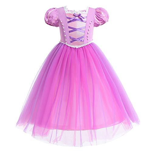 OBEEII Rapunzel Disfraz Sofia Trajes de Princesa Carnaval Vestido de Tul Halloween...