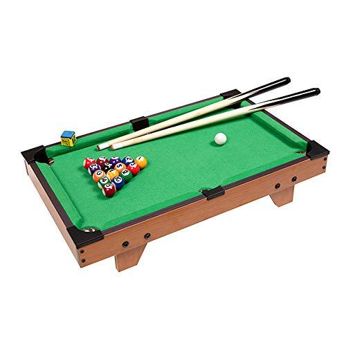 FGKLU Mini Billardtisch für Kinder, mit Bällen und Stichwort, Verbesserung der Eltern Kind Interaktion, Indoor Freizeitspielzeug, für Kinder, Familienfeiern,Large