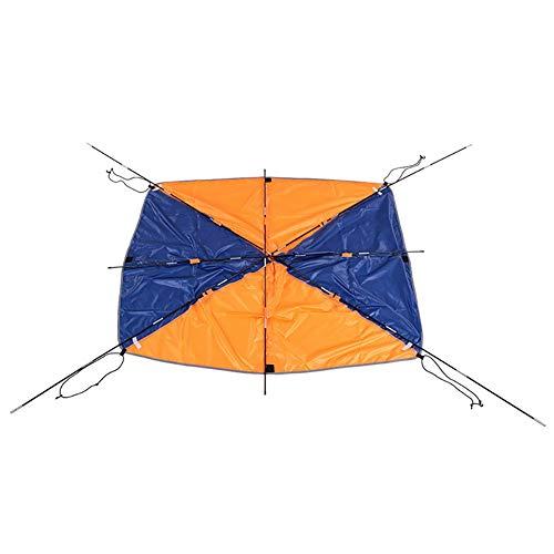 Floving 4-5 Personen Schlauchboot Sonnenschirm Segel Markisendach Fischen Zelt