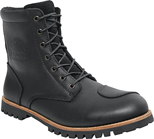 IXS Unisex Oiled Leather Boots, Schwarz, 44 EU