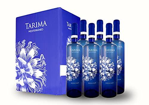 BODEGAS Y VIÑEDOS VOLVER | Vino Blanco Tarima Mediterráneo | Pack de 6 Botellas | Variedades Moscatel y Messeguera | D.O. Alicante | Cosecha de 2020 | (6 Botellas x 750 ml) |